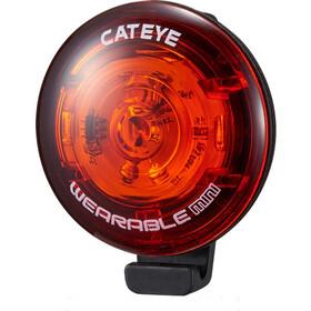 CatEye Wearable Mini SL-WA10 Veiligheidslamp, red